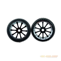51003 Rear Wheels for Pitbull X, 2 Pcs