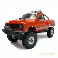 AMXRock AM18 Scale Crawler Pick-Up 4WD 1:18 RTR rot