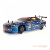 Amewi Bad Boy Driftcar Brushed 1:10, RTR, blau mit Akku...