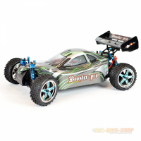 Amewi Booster Pro Buggy Brushless 4WD 1:10, RTR, grün/schwarz