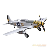 Amewi P-51D Mustang gelb 4-Kanal SW 750mm, PNP