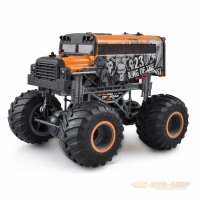 Crazy Schoolbus - Monster Truck Series 1:16 RTR, gelb...