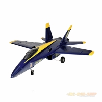 F18 Jet Blue Angel 656mm PNP, 64mm EDF