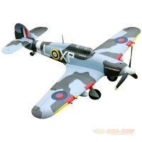 Hurricane green Warbird brushless, 4-Kanal, PNP