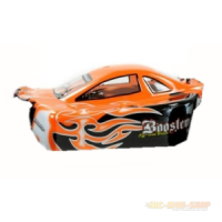 Karosserie 1:10 Buggy Booster/Leopard (Orange)