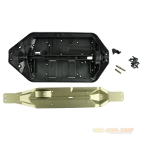 MA337EX-S Chassis mit Aluminium Center-Skidplate AM10T...