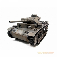 Panzer III, German Tank, Full Metal 1/16 Scale with Sound...