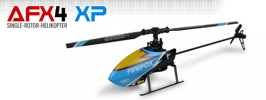 Amewi AFX4 XP Single-Rotor Helikopter